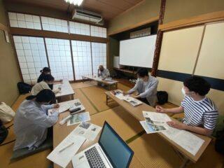 呉羽梨に関する企画のヒアリング調査風景